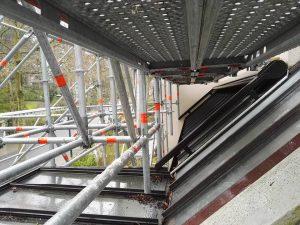 Location échafaudage Veranda suspendus